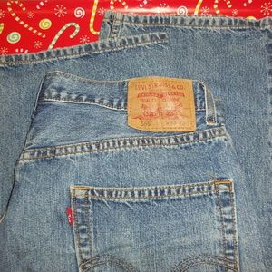 Levi's 569 Loose Straight Size 34x34 Blue Jeans!